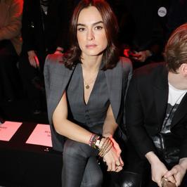 Kasia Smutniak na pokazie mody w Mediolanie. Jak się prezentowała?