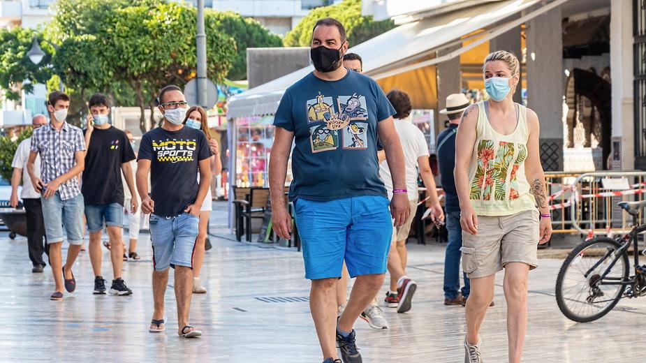 Trudna sytuacja epidemiczna w Hiszpanii