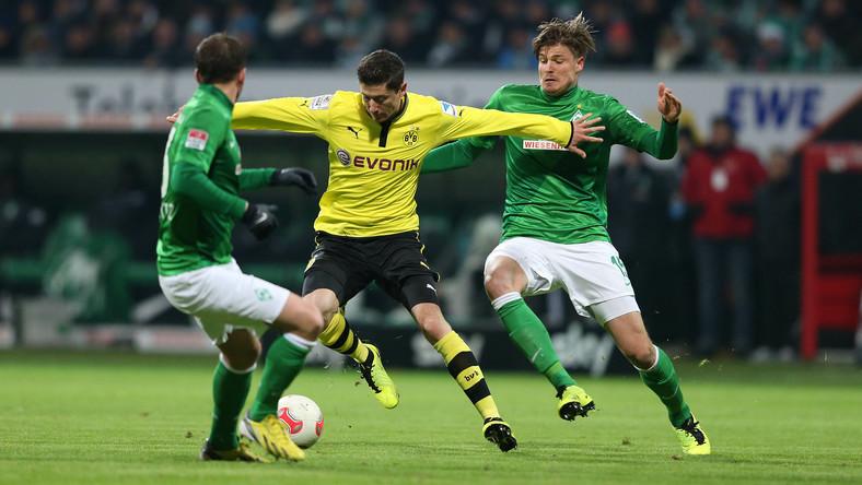 Piłkarza zawieszono na trzy spotkania piłkarskiej Bundesligi.
