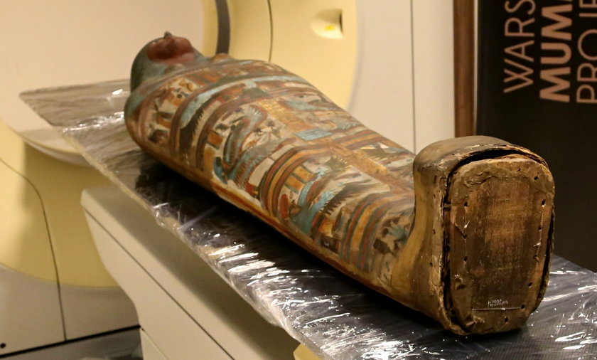Sprawdzili jak wyglądają mumie pod bandażami. Mężczyźni sprzed 2000 lat