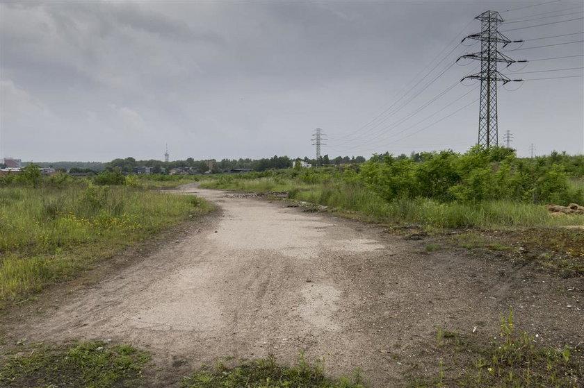 Tereny, gdzie ma powstać nowa dzielnica
