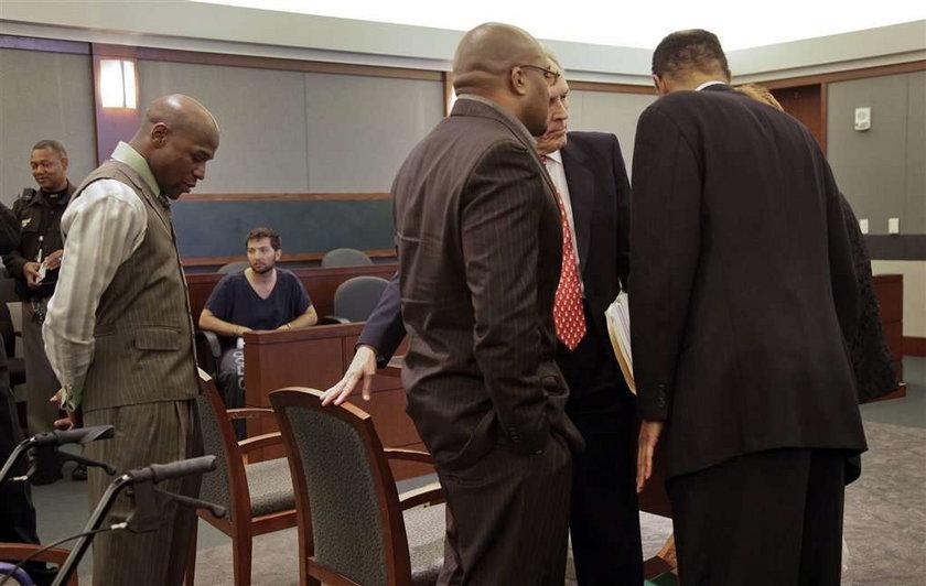Floyd Mayweather Junior trafi do więzienia za bicie żony