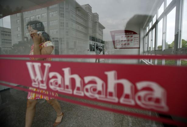 Logo firmy Wahaha. Fot. Bloomberg