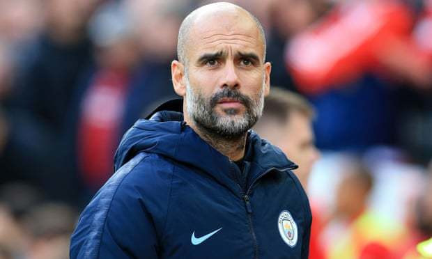 Pep Guardiola says Manchester's reaction to the terror attack showed the best of the city. Photograph: