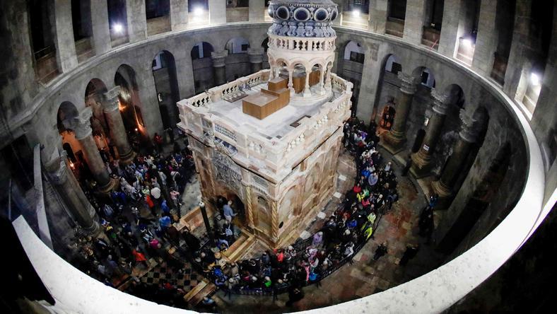 Zakończenie remontu Bazyliki Grobu Świętego w Jerozolimie