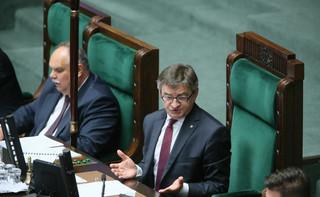 Grzegrzółka o piśmie Kuchcińskiego do TK: Działanie w interesie publicznym