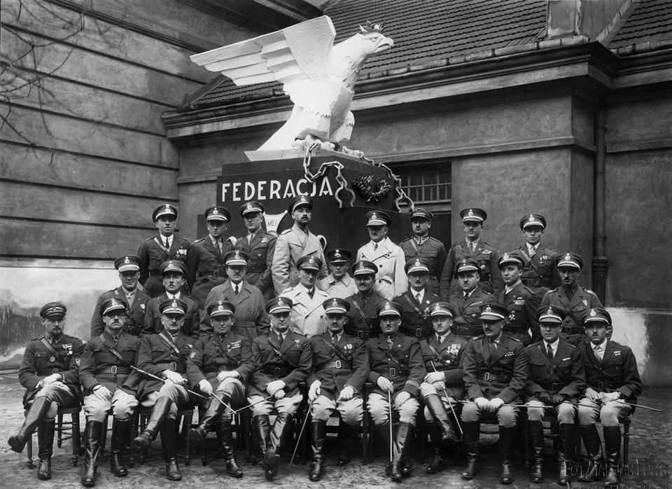 Lublin. Uroczystość z udziałem członków Federacji Polskich Związków Obrońców Ojczyzny