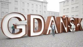 Gdańsk doczekał się wielkiego napisu. Turyści uwielbiają takie atrakcje