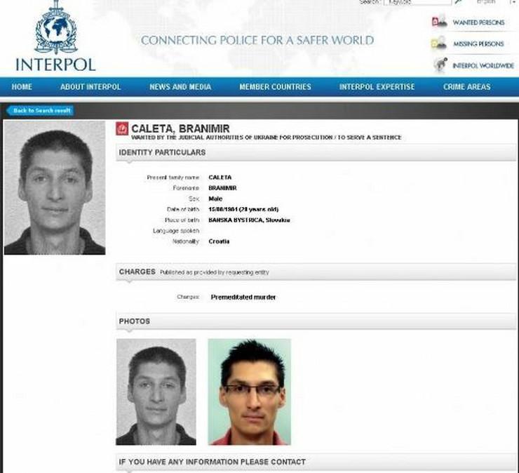 Branimir Čaleta Interpol