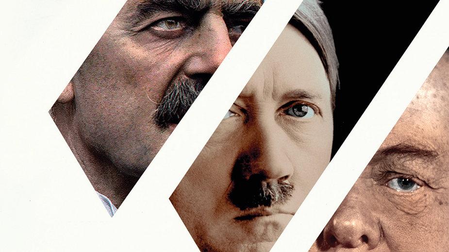 """Tim Bouverie, """"Herbatka z Hitlerem. Jak brytyjskie elity chciały zjednać Trzecią Rzeszę"""" (okładka)"""