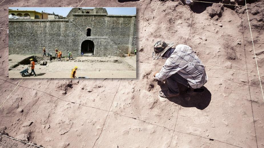 Niecodzienne odkrycie w Turcji. Ulica z czasów starożytnego Rzymu