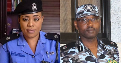 Dolapo Badmus,Abayomi Shogunle demoted as police release names of dismissed officers