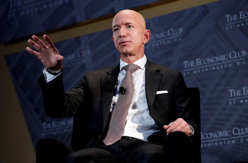 Jeff Bezos, założyciel Amazon