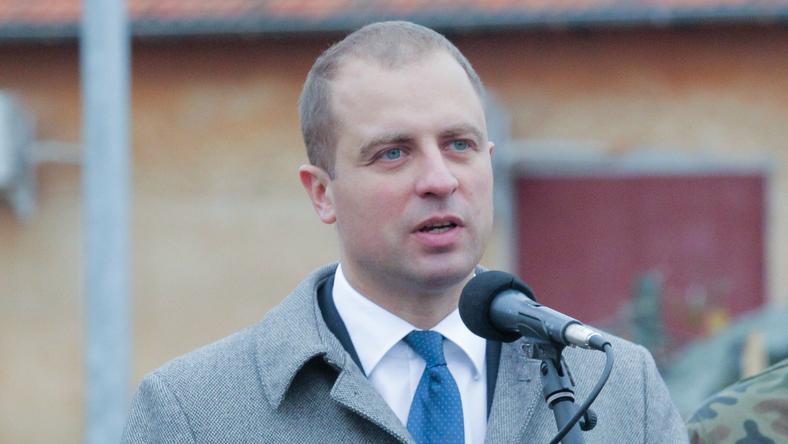 Wiceszef MON Tomasz Szatkowski