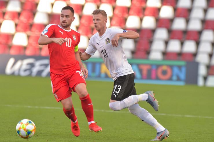 Mlada fudbalska reprezentacija Srbije, Mlada fudbalska reprezentacija Austrije