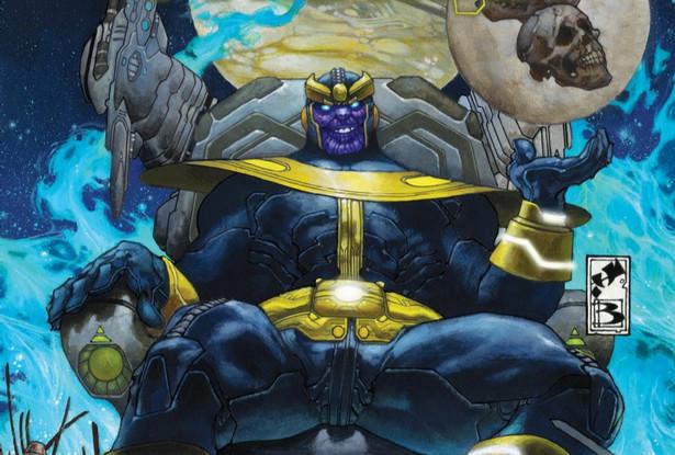 """Komiks """"Thanos powstaje"""""""