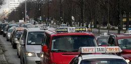 Uwaga! Protest taksówkarzy w stolicy!