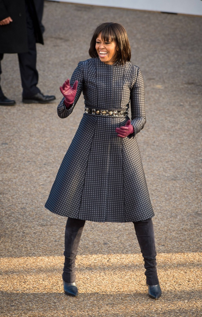 Mišel Obama  na inauguraciji