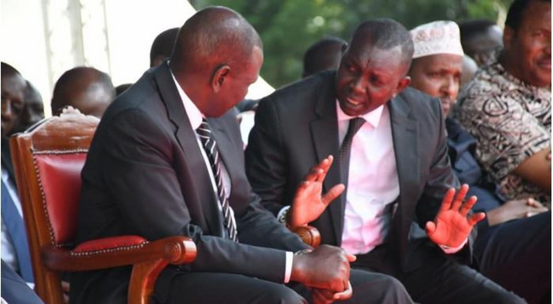 Oscar Sudi breathes fire after learning of Uhuru's plan to fire Ruto-allied CSs