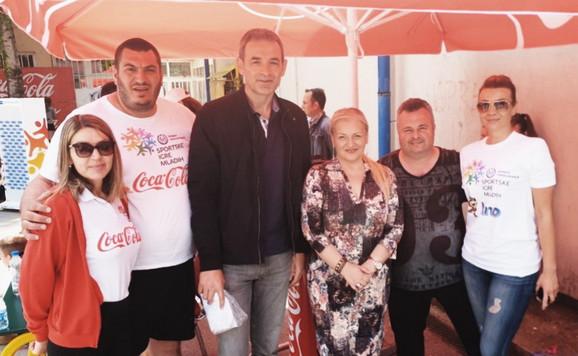 Milenko Topić je pružio podršku Sportskim igrama mladih