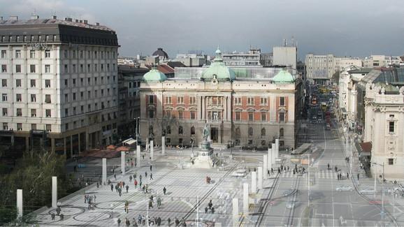 Jedno od mnogobrojnih rešenja budućeg izgleda Narodnog muzeja, koji već godinama ne radi