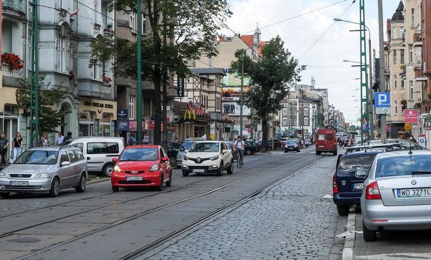 Miasto planuję przebudowę kolejnego odcinka ul. Dąbrowskiego