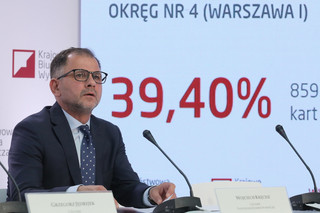 PKW: Warszawa z rekordową frekwencją. Znamy dane z godz. 17:00