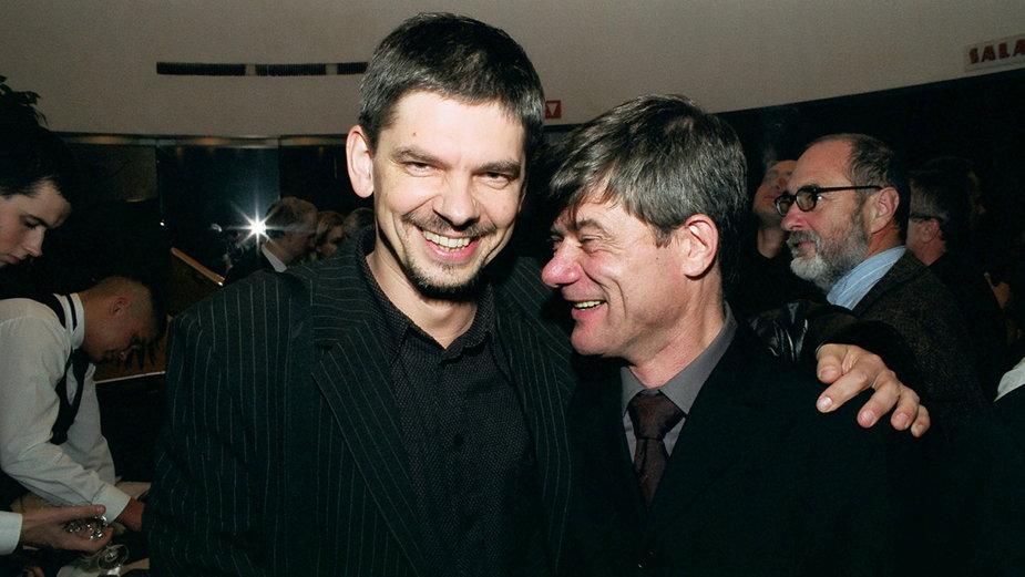 Filip Łobodziński i Henryk Gołębiewski (2003 r.)