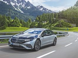 Mercedes EQS –jakby spod innej gwiazdy