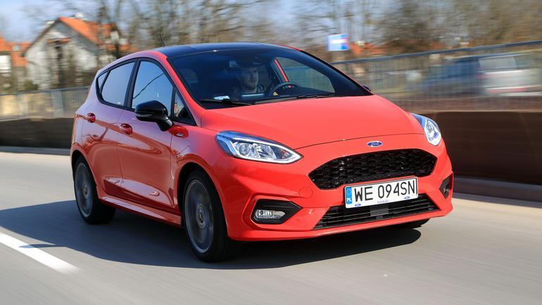 Ford Fiesta 1.0 Ecoboost ST-Line - szybki nie tylko w wyglądu