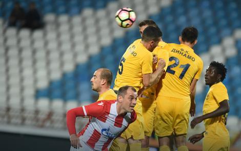 Fudbaleri vranjskog Dinama na gostovanju Crvenoj zvezdi u meču Kupa Srbije