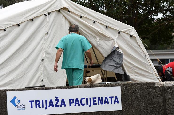 Crna Gora, korona virus