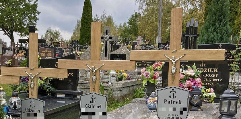 Kochali naturę, a teraz kwiaty przykryły ich grób. Patryk z synkami wyruszył w tę ostatnią podróż. Zbyt wcześnie