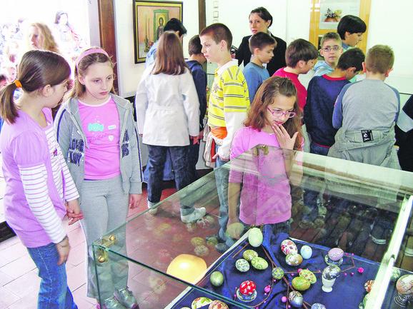 Muzej ima bogatu kolekciju uskršnjih jaja iz različitih godina
