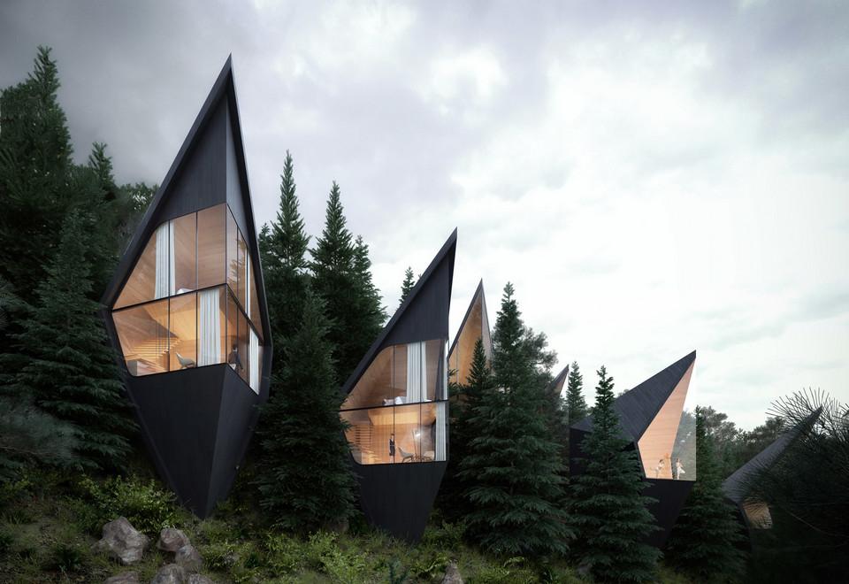 3901a4e676083d Poznajcie projekt Tree House we włoskich Dolomitach - Noizz
