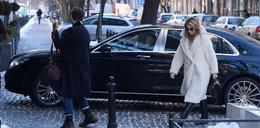 Janachowska zawstydza swoją limuzyną prezesów i ojca dyrektora! ZDJĘCIA