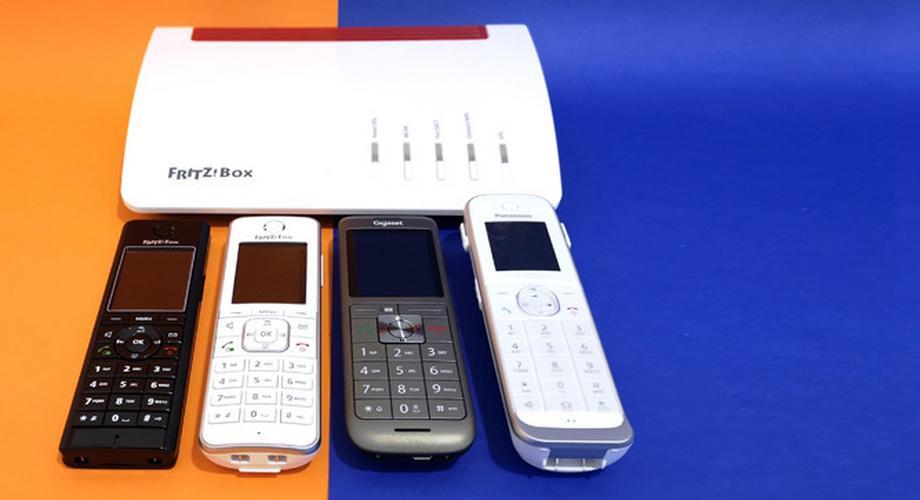 Vergleichstest: Vier DECT-Telefone für die Fritzbox