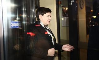 Szydło i Morawiecki przybyli do siedziby PiS