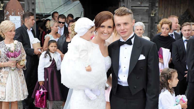 Jan Ziobro z żoną