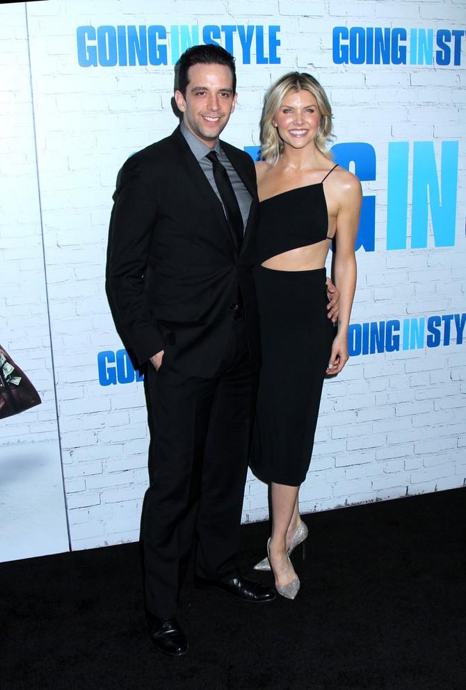Nik Kordero sa suprugom Amandom
