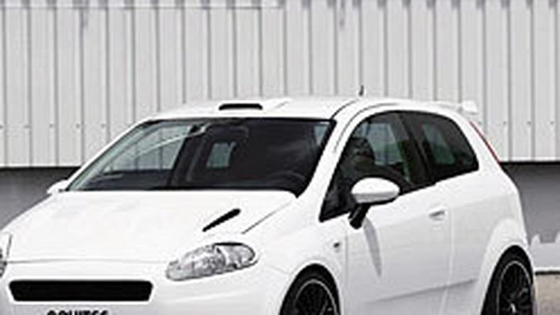 Novitec Fiat Grande Punto X One Biała Bestia