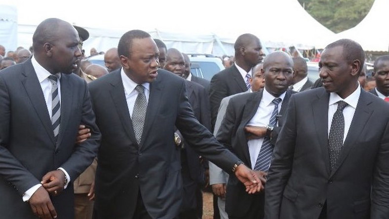 Image result for Ruto with Murkomen