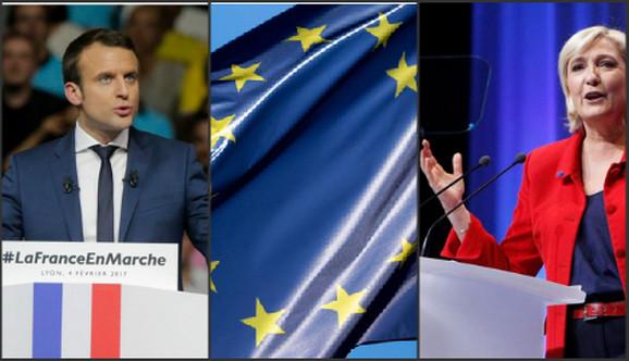 Emanuel Makron i Marin Le Pen
