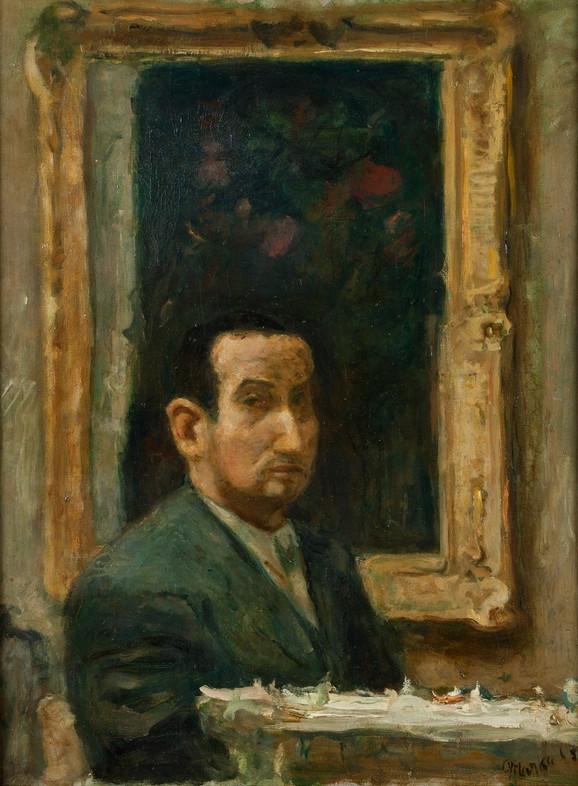 Marko Čelebonović, Autoportret, 1935, 64x50cm