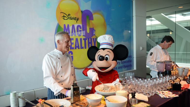 Korporacja Walt Disney Co walczy z otyłością dzieci - wprowadziła zakaz reklam niezdrowej żywności