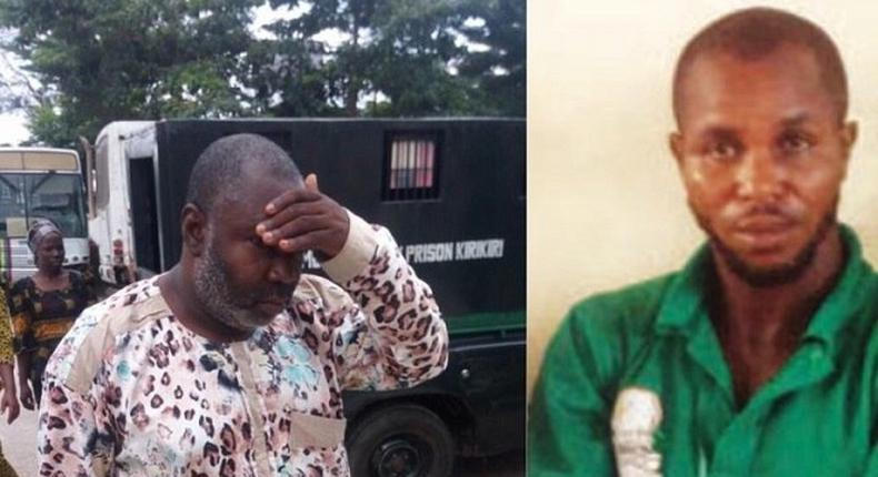 These perverts, Ishola Idris and Linus Okonkwo are now cooling their heels in prison