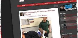 Znany raper miał wypadek! Uszkodził sobie kręgosłup!