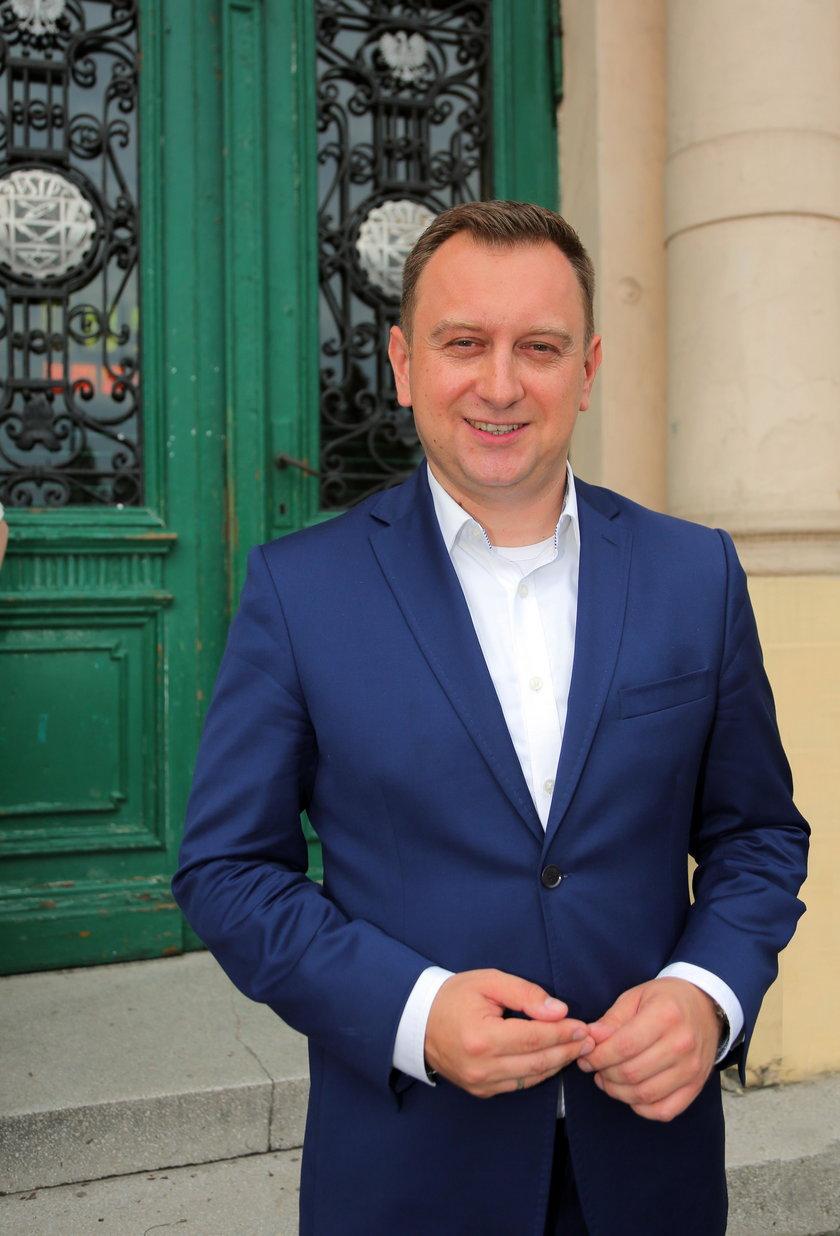 Tomasz Trela, wiceprezydent Łodzi