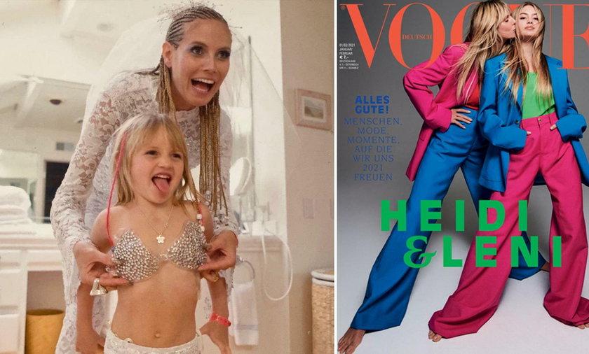 Córka Heidi Klum idzie w ślady słynnej mamy