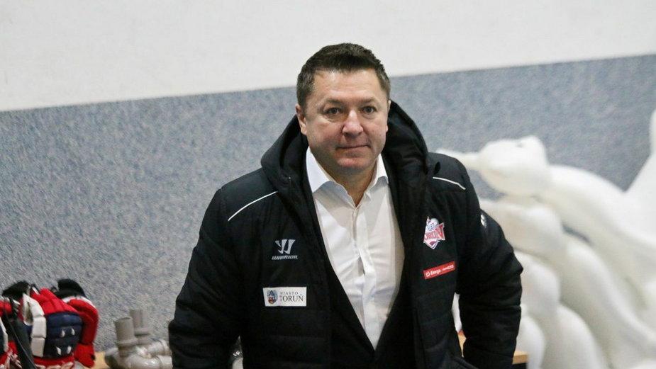 Juryj Czuch - były trener KH Energi Toruń